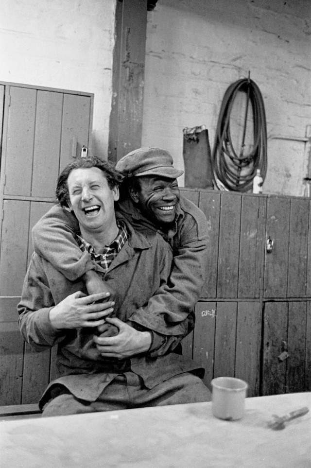 Joke between 2 steelworkers, Bilston 1977